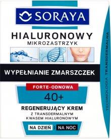 Soraya Hialuronowy mikrozastrzyk 40+ Regenerujący krem na dzień i na noc 50 ml