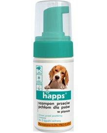 HAPPS szampon przeciw pchłom dla psów pianka 100ml