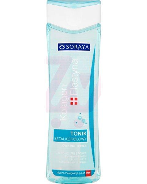 Soraya Kolagen plus Elastyna Tonik bezalkoholowy 200 ml