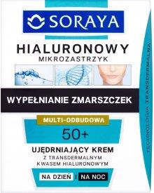 Soraya Hialuronowy mikrozastrzyk 50+ Ujędrniający krem na dzień i na noc 50 ml