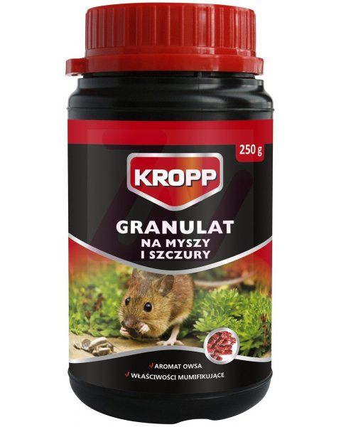 KROPP granulat na myszy i szczury 250g