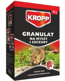 KROPP granulat na myszy,szczury 90g