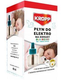 KROPP płyn do elektrofumigatora na komary dla dzieci 60nocy