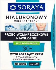 Soraya Hialuronowy mikrozastrzyk 30+ Wygładzający krem na dzień i na noc 50 ml