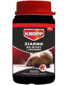 KROPP Ziarno zwalczające myszy i szczury 300g