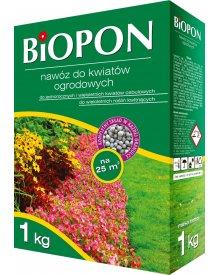 BIOPON nawóz do kwiatów ogrodowych granulat 1kg