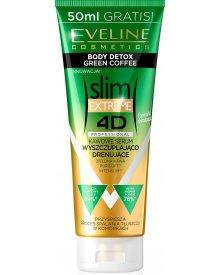Eveline 4D EXTREME serum SlimProfessional kawowe wyszczuplająco-drenujące 250ml