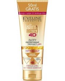 Eveline 4D EXTREME peeling slim złoty antycellulitowy 250ml