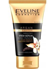 Eveline Argan Gold Edition krem-serum do rąk i paznokci waniliowy 50ml