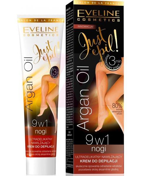 Eveline Just Epil Argan Oil krem do depilacji nóg 9w1 125ml