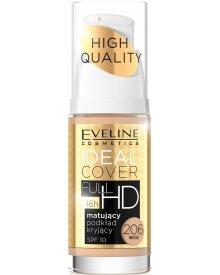 Eveline podkład do twarzy Ideal Cover Full HD matująco-kryjący nr 206 Beige 30ml