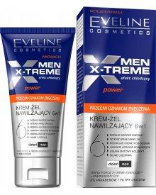 Eveline Men X-Treme 6w1 krem-żel nawilżający na dzień i noc 50ml
