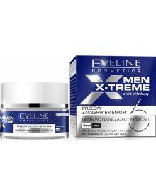 Eveline Men X-Treme 6w1 krem nawilżający przeciw zaczerwienieniom na dzień i noc 50ml