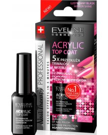 Eveline Nail Therapy odżywka do paznokci Top Coat Acrylic Gel 12ml