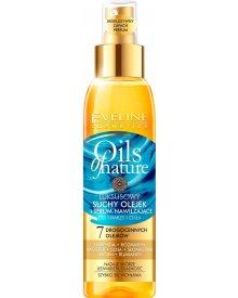 Eveline Oils of Nature luksusowy suchy olejek + serum nawilżające do twarzy i ciała 125ml