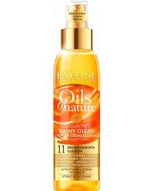 Eveline Oils of Nature luksusowy suchy olejek + serum odmładzające do twarzy i ciała 125ml