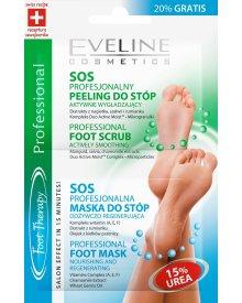Eveline maseczka + peeling do stóp Foot Therapy 12ml