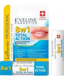 Eveline pomadka do ust skoncentrowane serum 8w1 Total Action 4ml