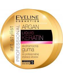 Eveline Argan & Keratin Liquid guma do włosów extra mocna 100ml