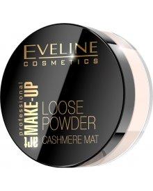 Eveline Art. Make Up Loose Powder puder sypki do twarzy nr 01 Transparent 20g