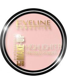 Eveline Art Professional Make Up puder rozświetlający prasowany nr 54 Rose 14g