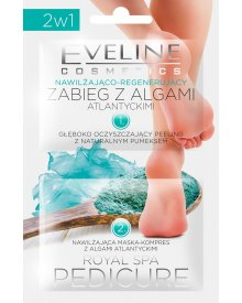Eveline Royal Spa Pedicure zabieg z algami do stóp nawilżająco-regenerujący 12ml