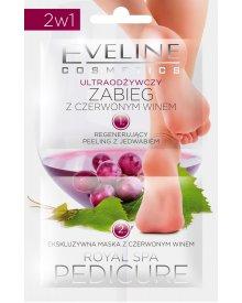 Eveline Royal Spa Pedicure zabieg z czerwonym winem do stóp odżywczy 12ml