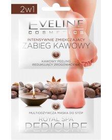 Eveline Royal Spa Pedicure zabieg kawowy do stóp zmiękczająco-odżywczy 12ml