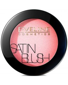Eveline Satin Blush róż do policzków nr 03 Peachy Pink 5.5g