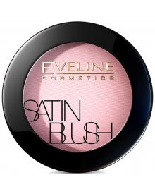 Eveline Satin Blush róż do policzków nr 04 Bronzed Rose 5.5g