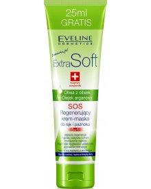 Eveline Extra Soft SOS krem-maska do rąk oliwkowy 100ml