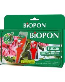 BIOPON Eliksir do pelargonii i innych roślin 6szt x35ml