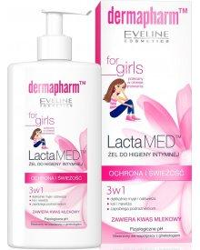 Eveline Lactamed żel do higieny intymnej 3w1 ochrona i świeżość 250ml