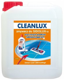 CLEANLUX zmywacz do Sidoluxu 5l
