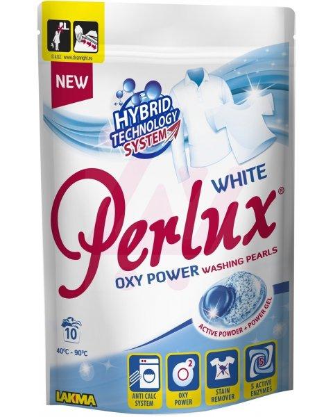PERLUX perły piorące do białego 10szt