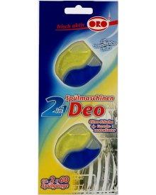 ORO Cytrynki zapach neutralizator do zmywarek 2szt