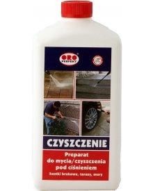 ORO Preparat do czyszczenia pod ciśnieniem kostki brukowe tarasy mury 1l