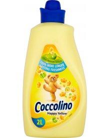 Coccolino Happy Yellow Płyn do płukania tkanin koncentrat 2 l (57 prań)