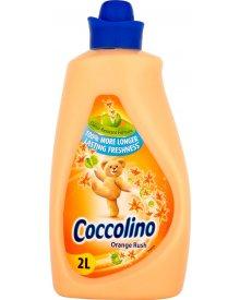 Coccolino Orange Rush Płyn do płukania tkanin koncentrat 2 l (57 prań)