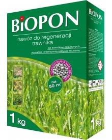 BIOPON nawóz do regeneracji trawnika granulat 1kg