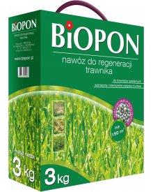 BIOPON nawóz do regeneracji trawnika granulat 3kg