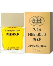Christopher Dark Men Fine Gold woda toaletowa 100ml