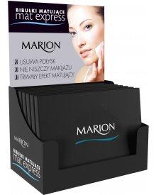 Marion Mat Express bibułki matujące do twarzy 50szt.