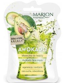Marion Fit & Fresh maseczka do twarzy cera sucha Awokado 7,5ml