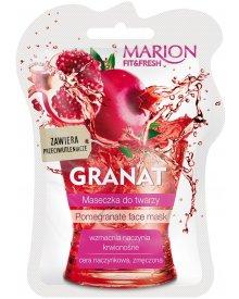 Marion Fit & Fresh maseczka do twarzy cera naczynkowa Granat 7,5ml