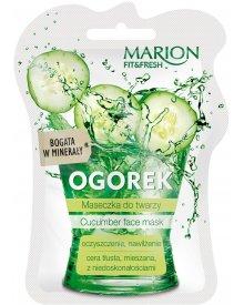 Marion Fit & Fresh maseczka do twarzy cera mieszana Ogórek 7,5ml