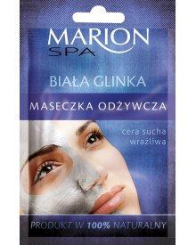 Marion Spa maseczka do twarzy odżywcza Biała Glinka 8g