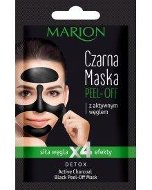 Marion Detox maska Peel-Off czarna Aktywny Węgiel 6g