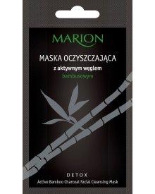 Marion Detox maska z węglem bambusowym oczyszczająca 10g