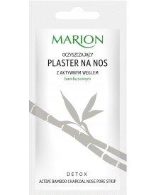 Marion Detox plaster na nos z węglem bambusowym oczyszczający